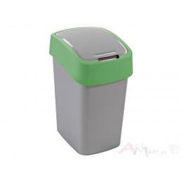 Контейнер для мусора Curver Flip Bin 10L , зеленый