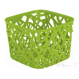 Корзинка Curver Neo square зеленый