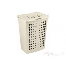 Корзина бельевая Curver Laundry Hamper 40L кремовый