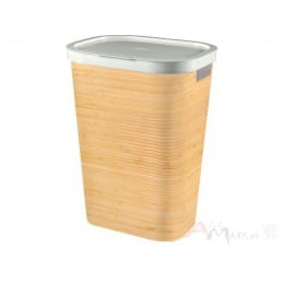 Корзина бельевая Curver Infinity 60L бамбук
