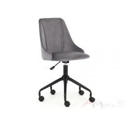 Кресло компьютерное Halmar Break серое