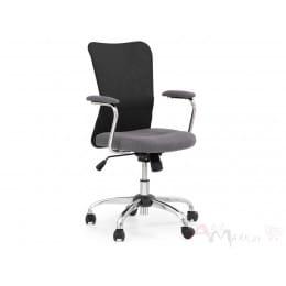 Кресло компьютерное Halmar Andy серо-черное