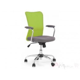 Кресло компьютерное Halmar Andy серо-зеленое