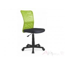 Кресло компьютерное Halmar Dingo лайм / черный