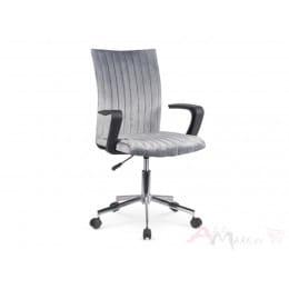 Кресло компьютерное Halmar Doral серое