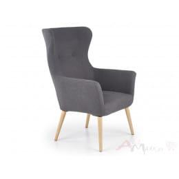 Кресло Halmar Cotto темно-серое