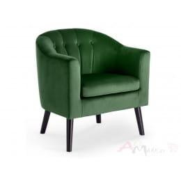 Кресло Halmar Marshal темно-зеленое