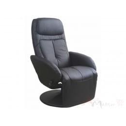 Кресло Halmar Optima черное