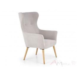 Кресло Halmar Cotto светло-серое
