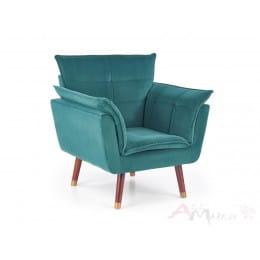 Кресло Halmar Rezzo темно-зеленое