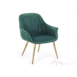 Кресло Halmar Elegance 2 темно-зеленое