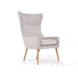 Кресло Halmar Favaro 2 светло-серое