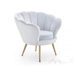 Кресло Halmar Amorino светло-голубое