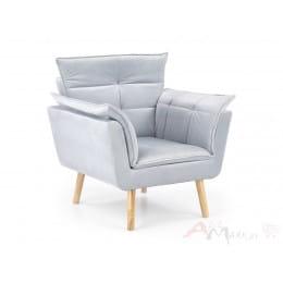 Кресло Halmar Rezzo светло-серое