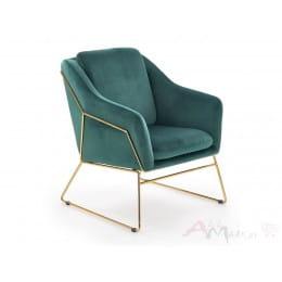 Кресло Halmar Soft 3 темно-зеленое