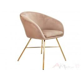 Кресло Sedia AMUR светло-коричневое