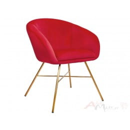Кресло Sedia AMUR алое