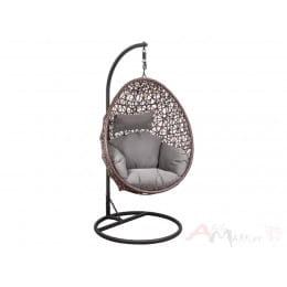 Кресло подвесное Sedia Bounty коричневый/серо-бежевый