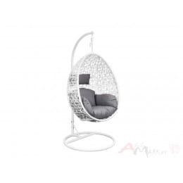 Кресло подвесное Sedia Bounty белый/серый
