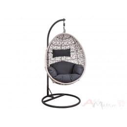 Кресло подвесное Sedia Bounty серо-бежевый/графит