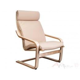 Кресло-качалка Sedia Relax ECO, кремовое
