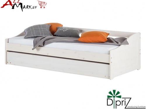 Детская выдвижная кровать Бонни Диприз Д 8122 из массива сосны