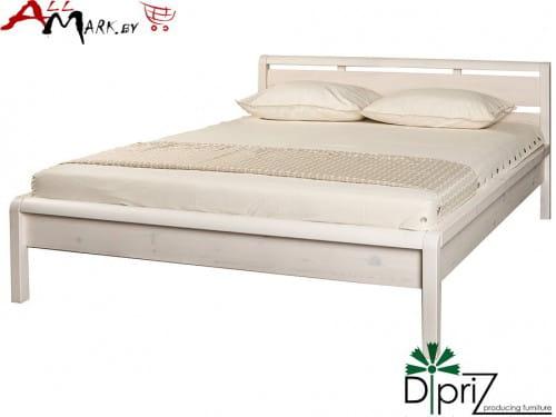 Двуспальная кровать Д 8146 Диприз Мадейра из массива сосны