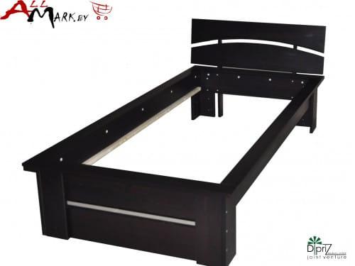 Односпальная кровать Д 8205 Париж Диприз из массива сосны