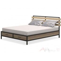 Кровать MillWood NEO Loft КМ-1 /L дуб золотой