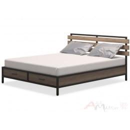 Кровать MillWood NEO Loft КМ-1 /L дуб табачный