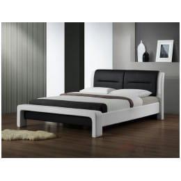 Кровать Halmar Cassandra 160 бело-черный
