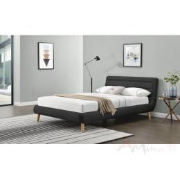 Кровать Halmar Elanda 140 темно-серая
