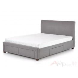 Кровать Halmar Modena 140 серая