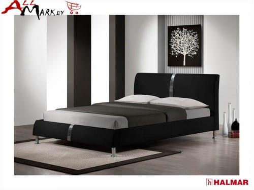 Двуспальная кровать Halmar Dakota экокожа