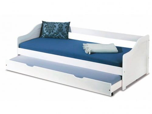 Выдвижная двуспальная детская кровать Halmar Leonie 2
