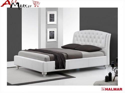 Двуспальная кровать Halmar Sofia экокожа