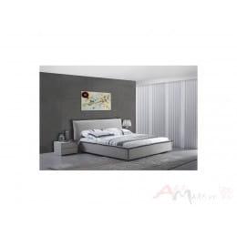 Кровать M-City RAY C1032 160х200 (232*205*H96) см, Цвет: R-C1032A+R-C1032-B ткань