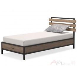 Кровать MillWood NEO Loft КМ-1-1 СМ/L дуб табачный