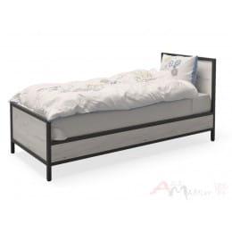 Кровать MillWood Loft КМ-2.1/L дуб белый