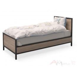 Кровать MillWood Loft КМ-2.1/L дуб табачный