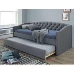 Кровать Signal Alessia 90x200 серый / дуб