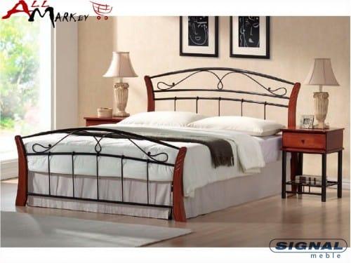 Двуспальная кровать Signal Atlanta из металла