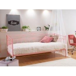 Кровать Signal Birma 90/200, розовый