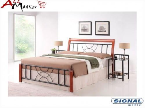 Двуспальная кровать Signal Cortina из металла