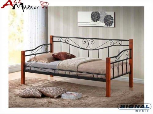 Односпальная кровать Signal Kenia дерево / металл