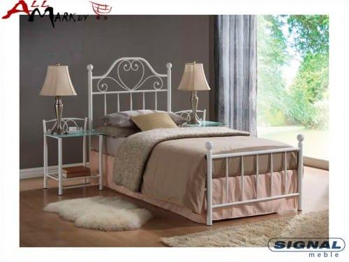 Односпальная металлическая кровать Signal Lima