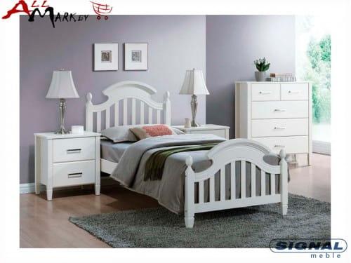 Односпальная кровать Signal Lizbona дерево и мдф