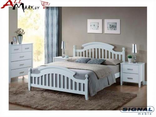 Двуспальная кровать Signal Lizbona из мдф