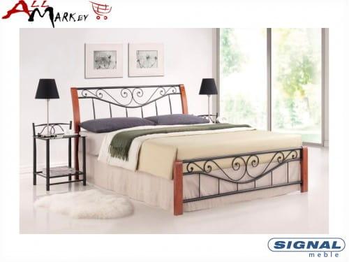 Полутораспальная металлическая кровать Signal Parma 140