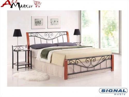 Двуспальная металлическая кровать Signal Parma 160